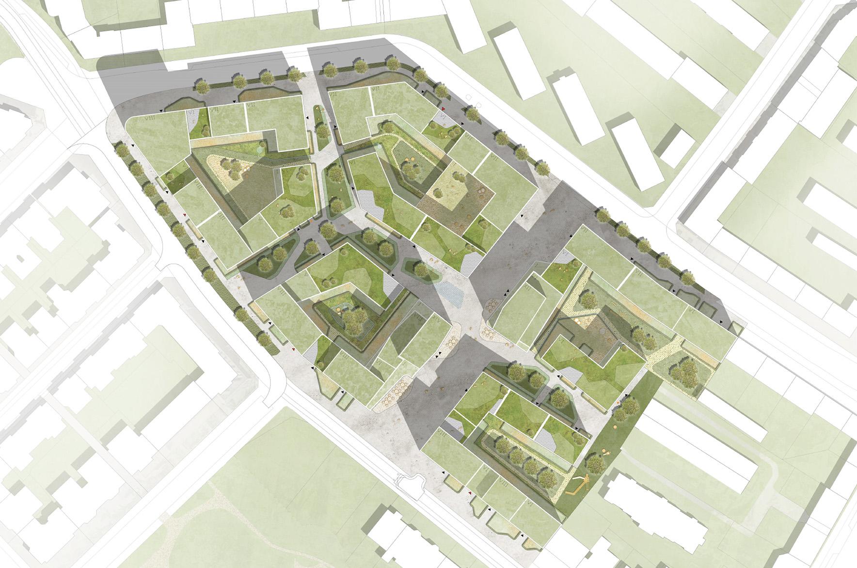 Städtebauliche Struktur